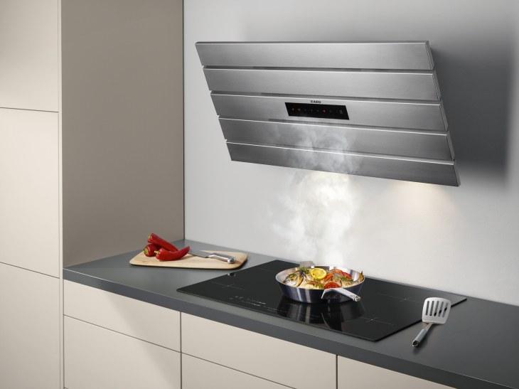 Вытяжка на кухню своими руками: оформление и декор