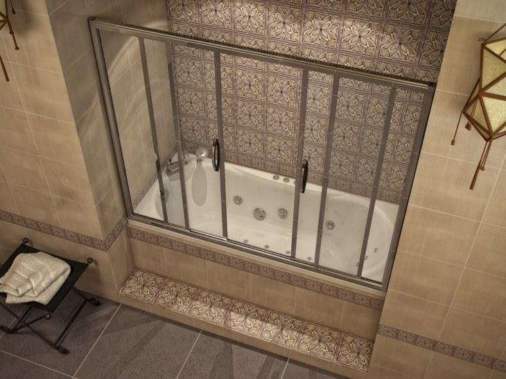 Шторка для ванной (66 фото): прозрачные шторы, необычные занавески для ванной комнаты, как подобрать правильный размер