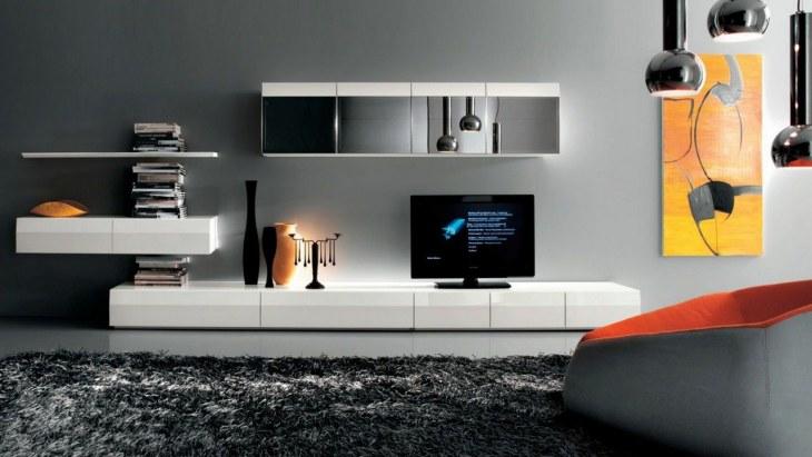 Современные стенки в гостиную 74 фото красивые угловые и мини модели в зал в современом стиле белые и черные в стильном интерьере