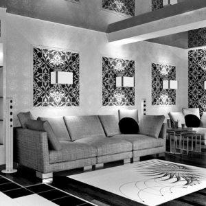 Черный интерьер: выбор сочетаний и полезные советы по оформлению от дизайнеров (145 фото)