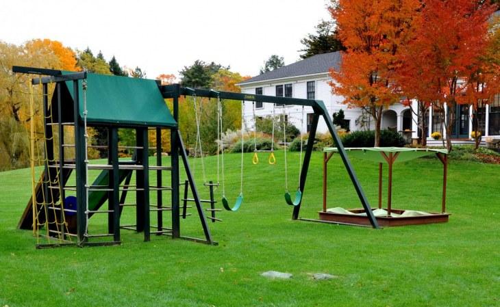 Как сделать игровую площадку для детей