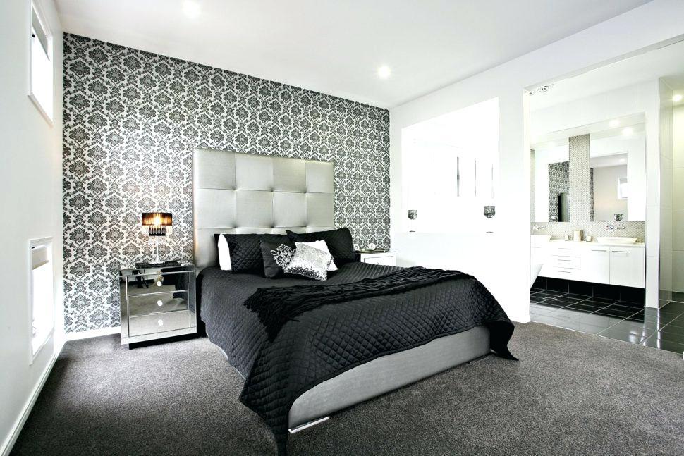 черно-белая спальня 18