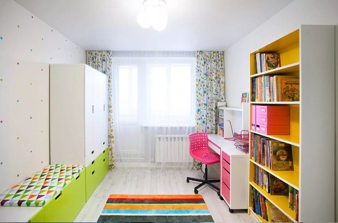 Как оформить детскую комнату для школьника в современном стиле 2021