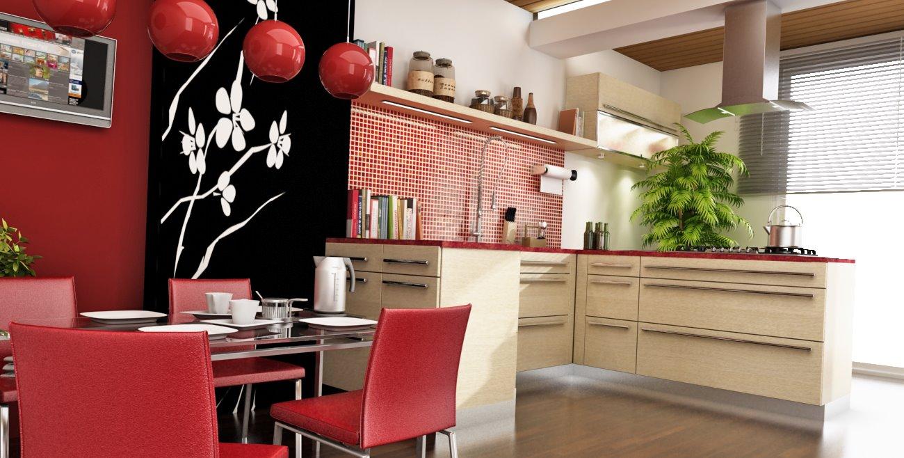кухня в японском стиле 10