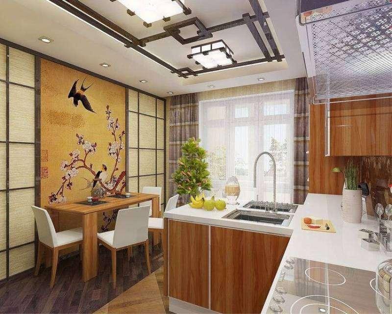 кухня в японском стиле 2