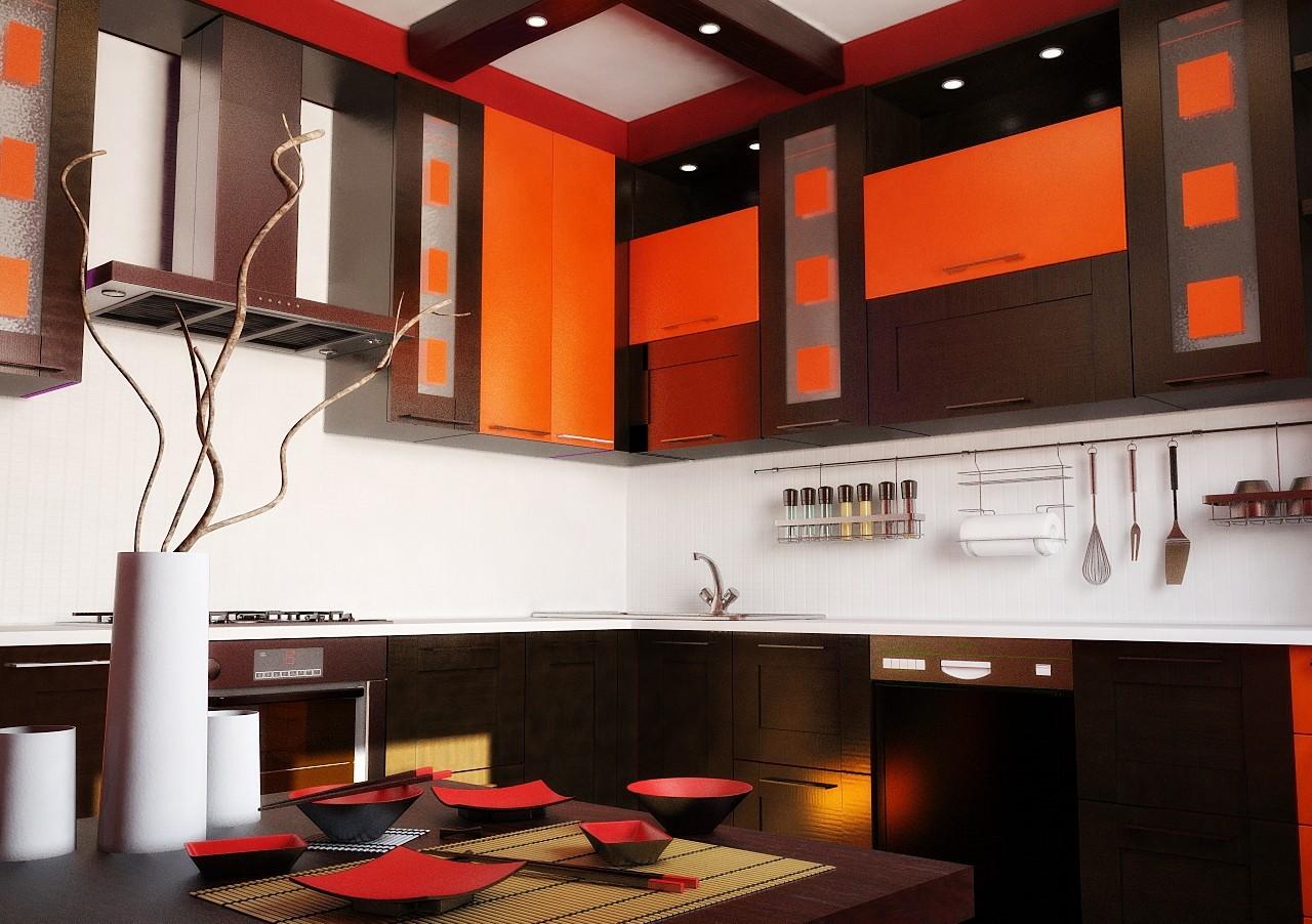 кухня в японском стиле 22