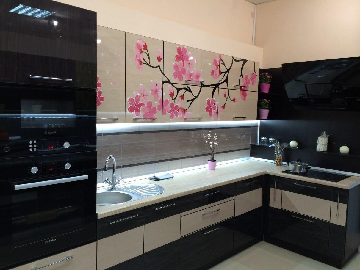кухня в японском стиле 26