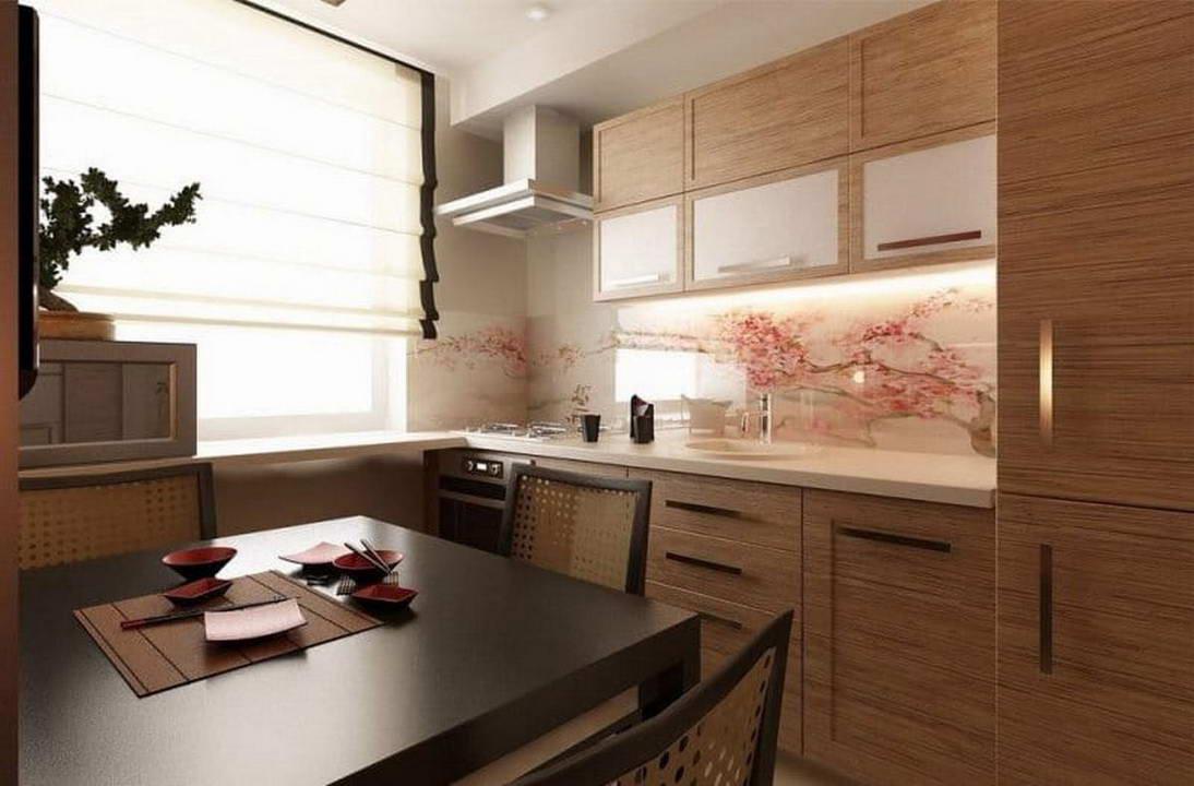 кухня в японском стиле 4