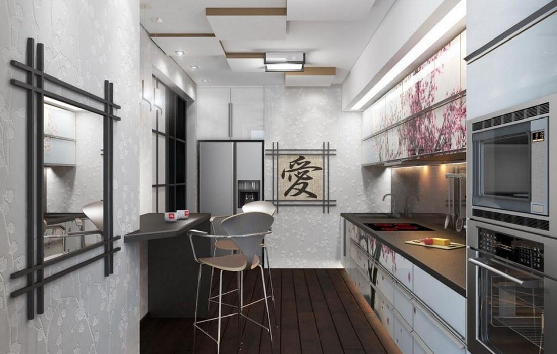 кухня в японском стиле 9