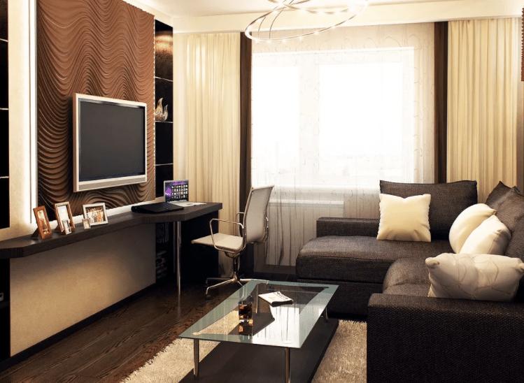Какой стиль выбрать для маленькой гостиной