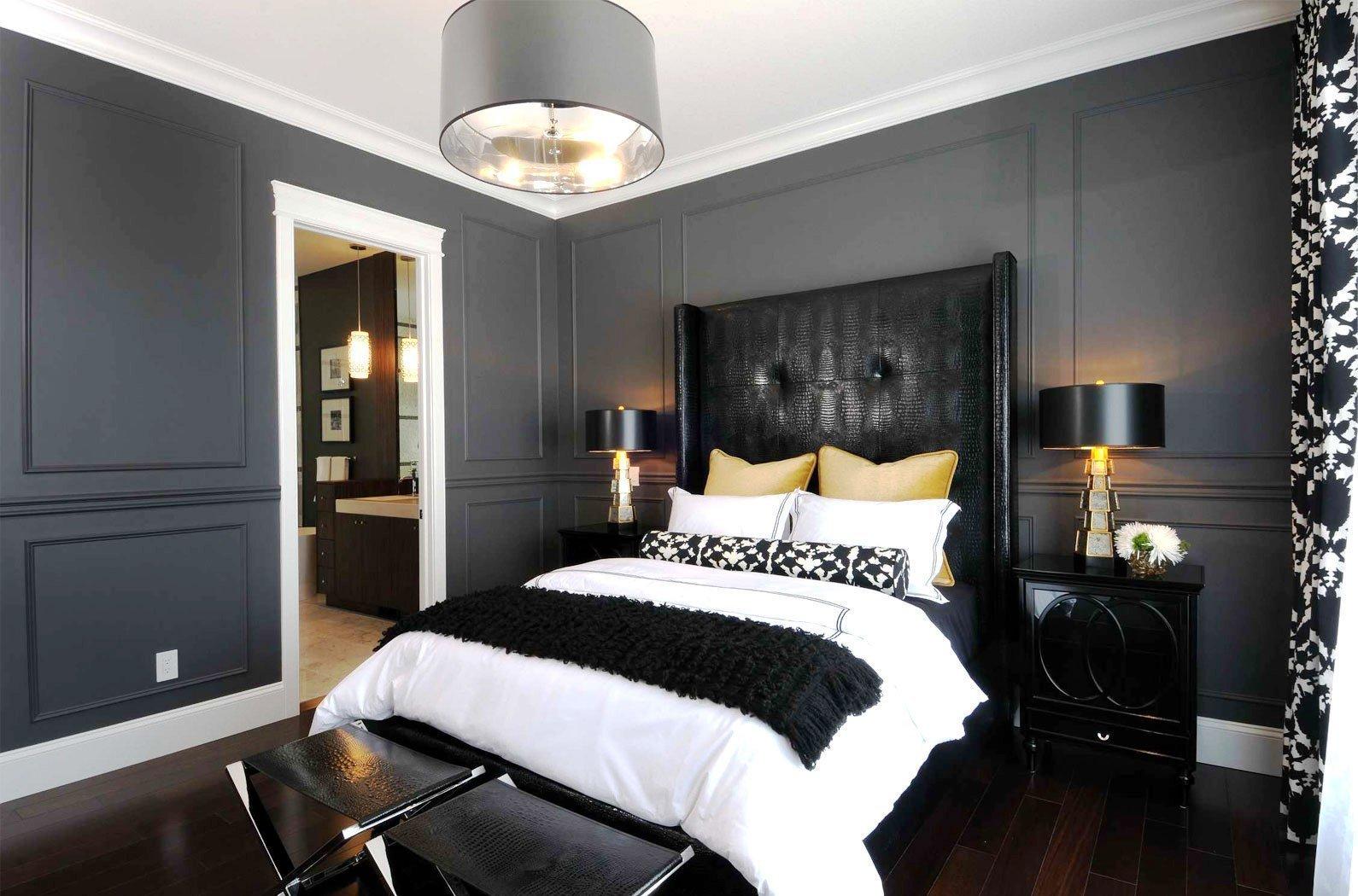 современный дизайн спальни 10