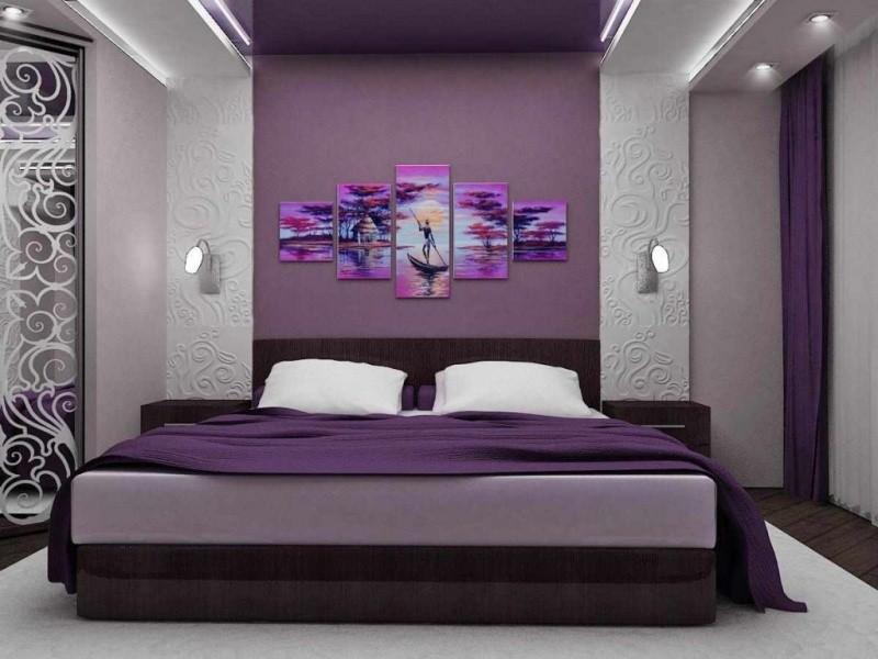 современный дизайн спальни 12