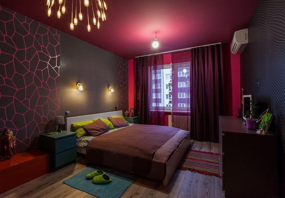 современный дизайн спальни 13