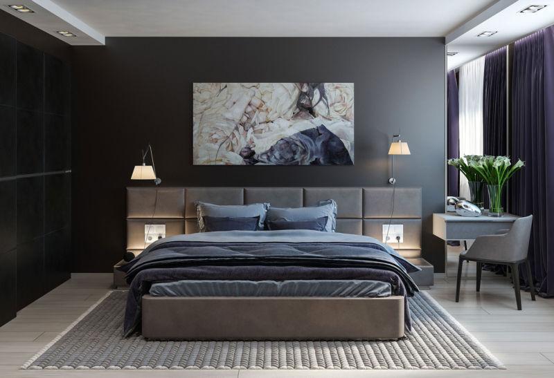 современный дизайн спальни 9