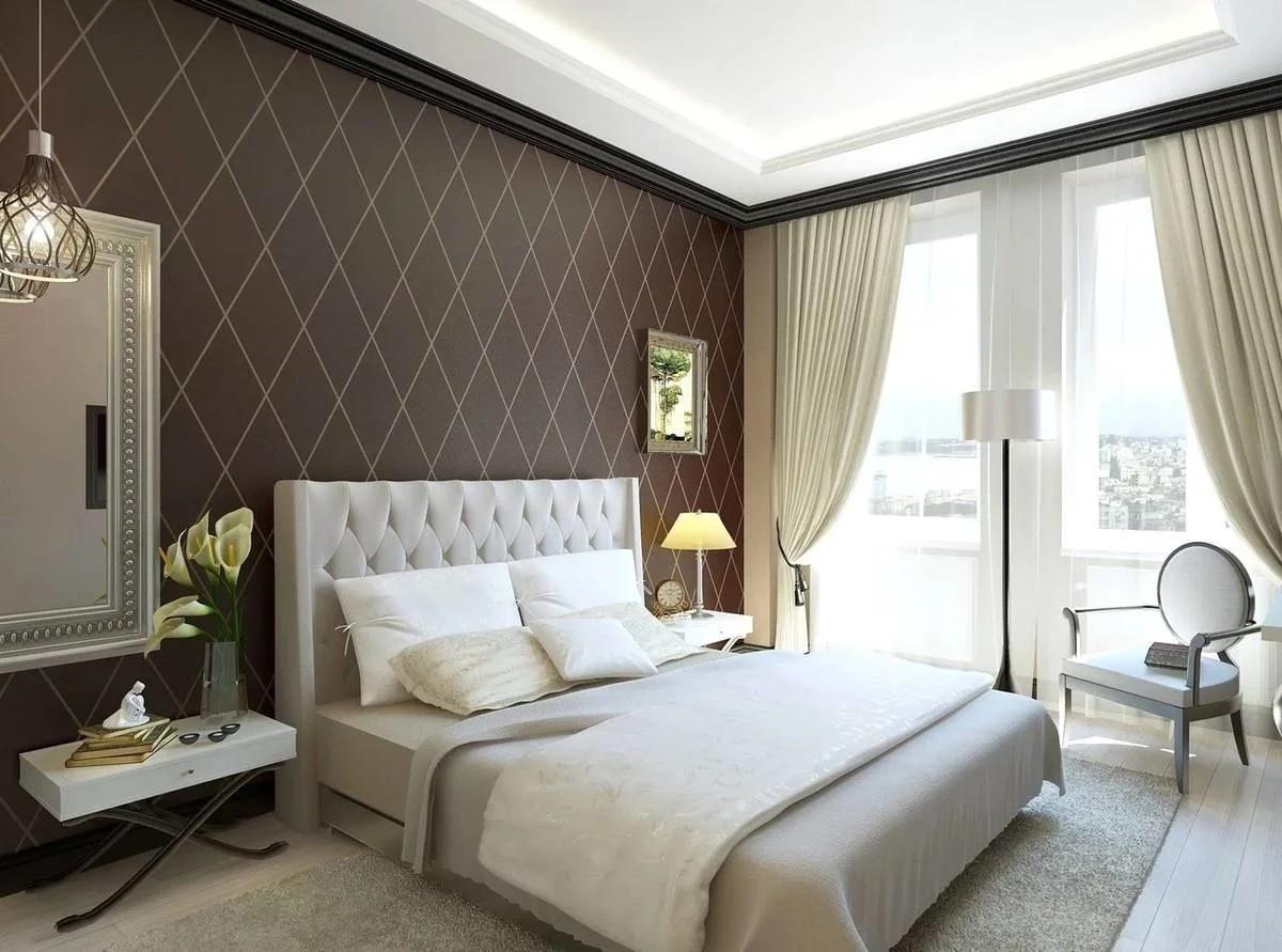 Шикарный дизайн спальни в стиле арт-деко 2021