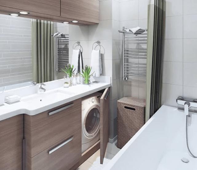 Варианты дизайна небольшой ванной комнаты 3 кв метра