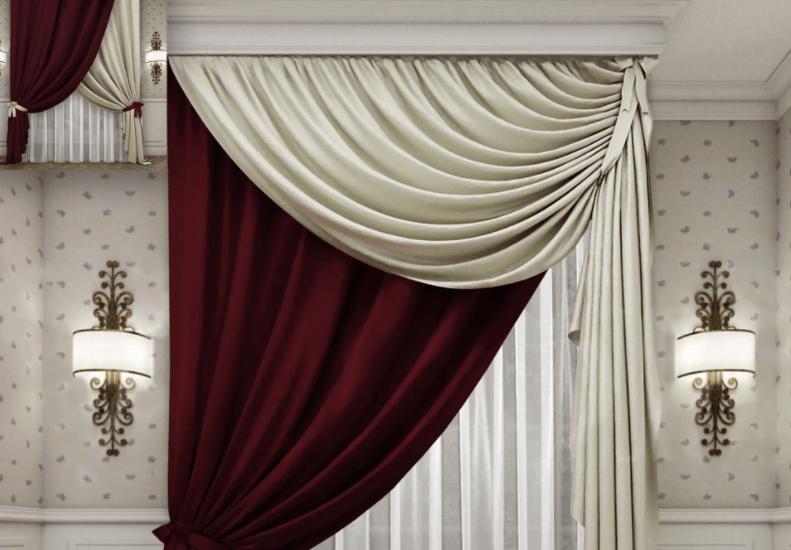 Модные шторы для гостиной 2021 года