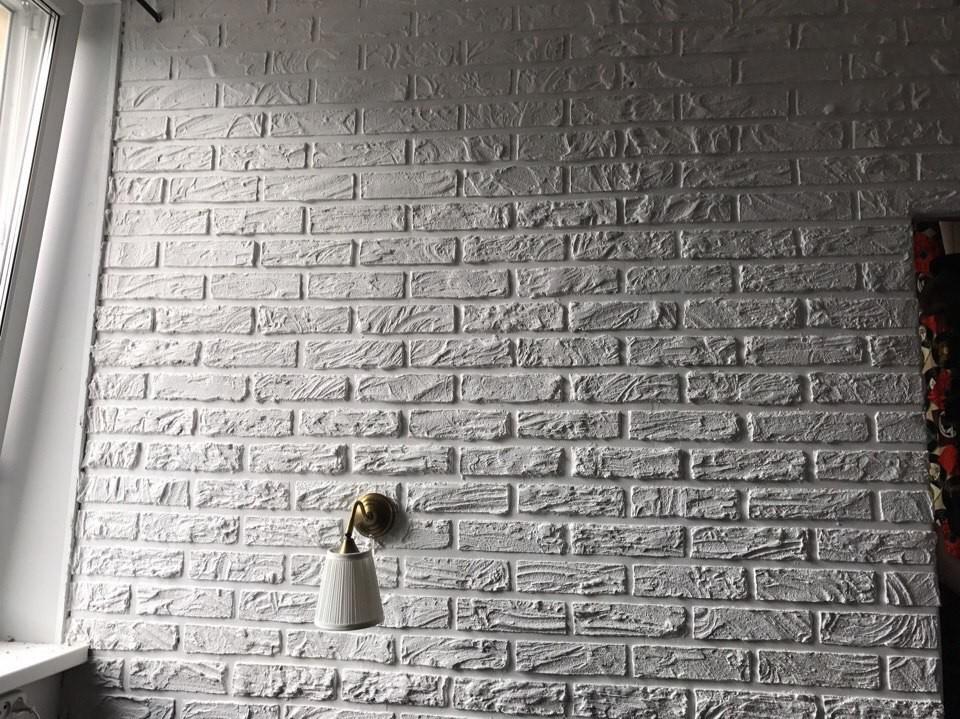 Как сделать имитацию кирпичной кладки на стене своими руками
