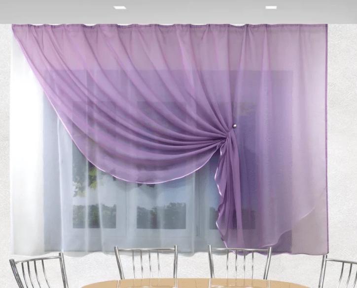 Модные шторы для кухни 2021 года