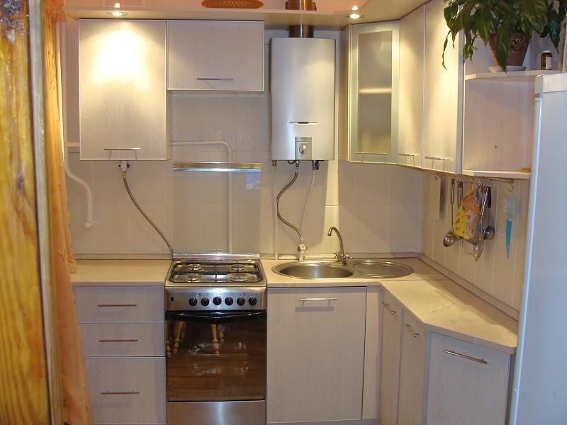 маленькая кухня 6 квм - 10