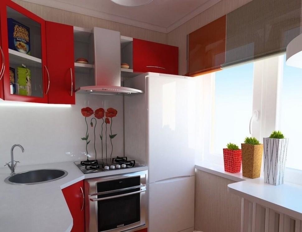 маленькая кухня 6 квм - 15