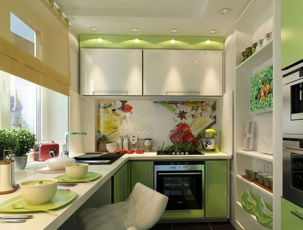 маленькая кухня 6 квм - 19