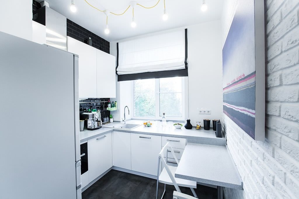 маленькая кухня 6 квм - 25