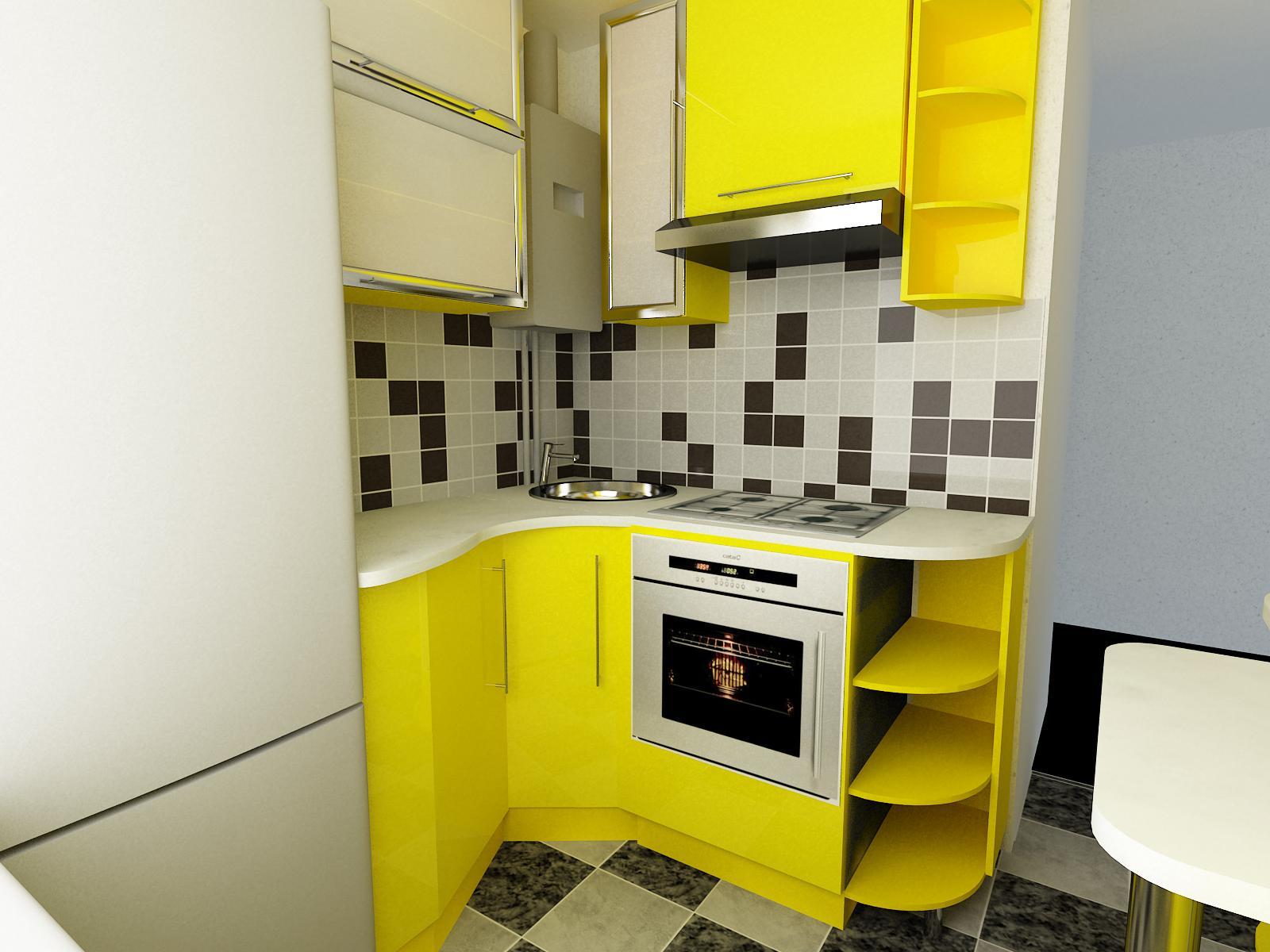 маленькая кухня 6 квм - 28
