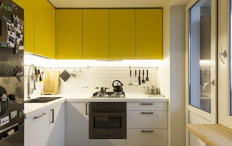 маленькая кухня 6 квм - 31