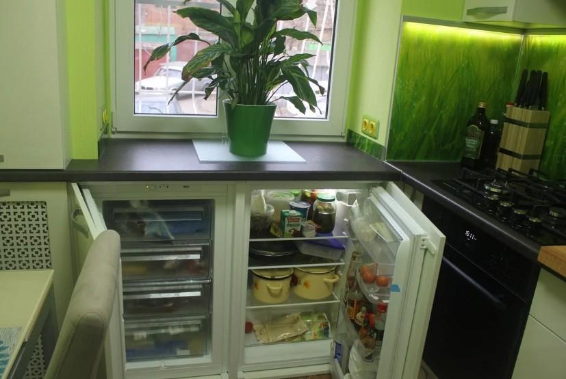 маленькая кухня 6 квм - 52