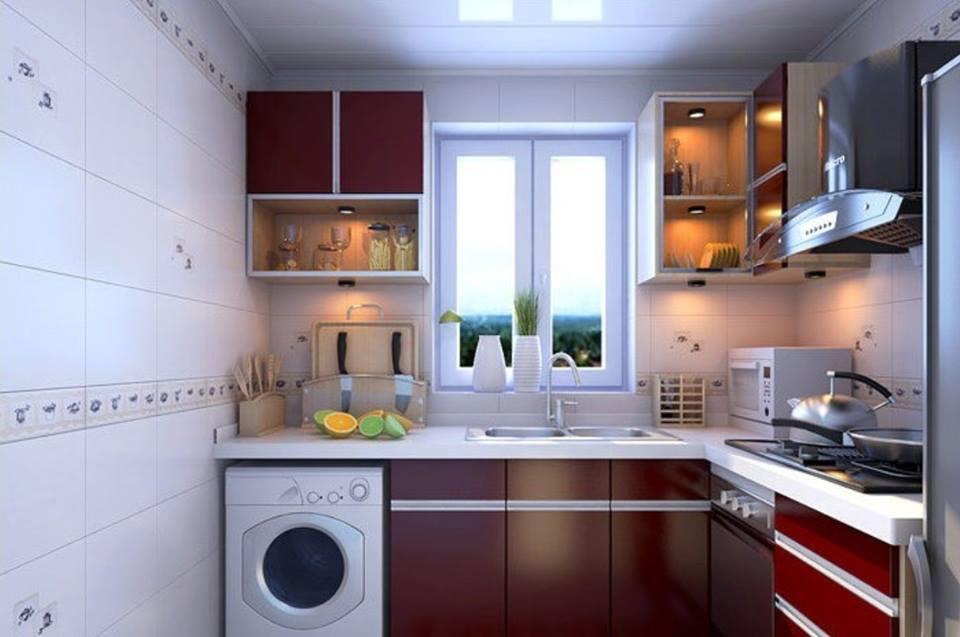 маленькая кухня 6 квм - 53