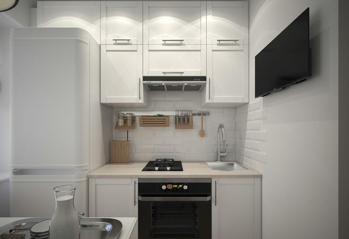 маленькая кухня 6 квм - 56