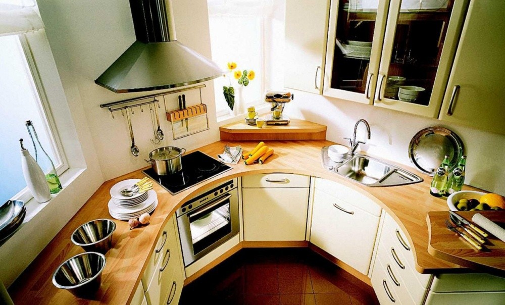маленькая кухня 6 квм - 6