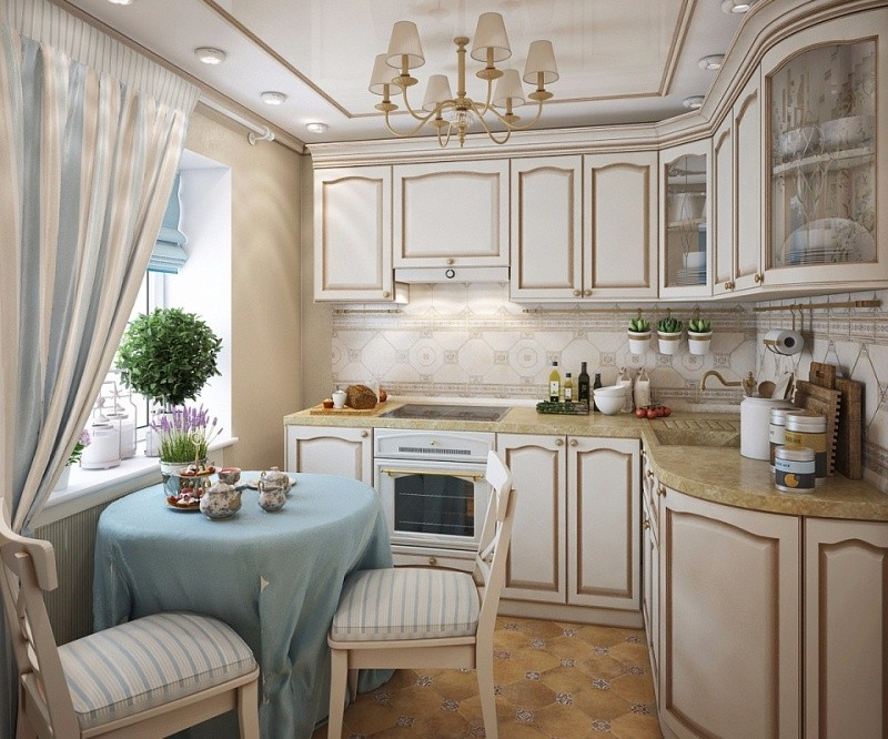 маленькая кухня 6 квм - 5