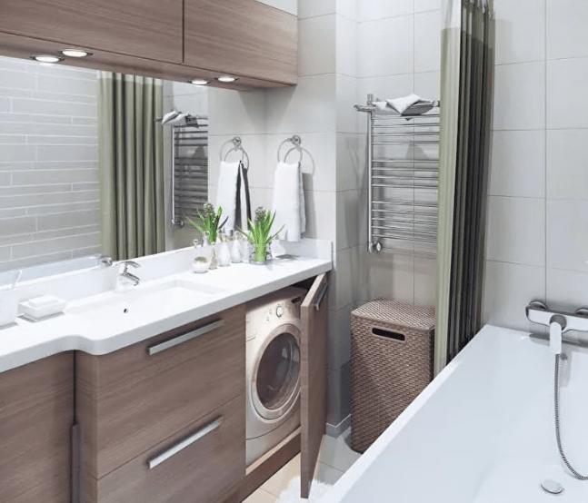 Дизайн ванной комнаты 5 кв метров